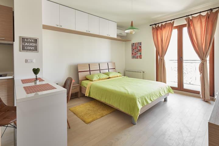 Luxury apartment in Flatiron Skopje