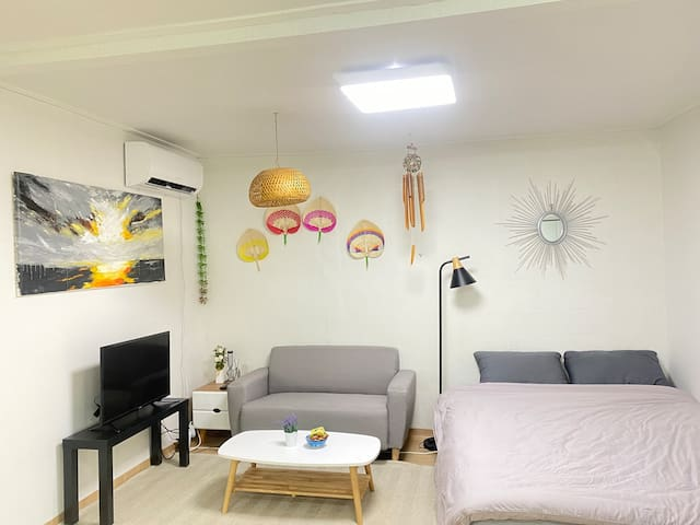 Cozy studio - 5 mins from Itewon station