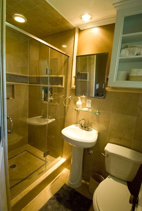 MASTER BATHROOM W/SHOWER