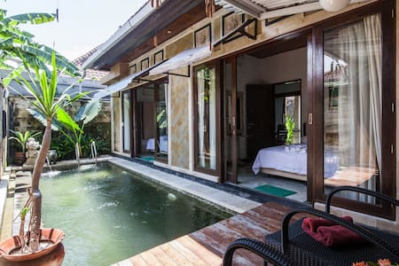 2BR-Balinese Style Villa w/ Private Pool in Sanur