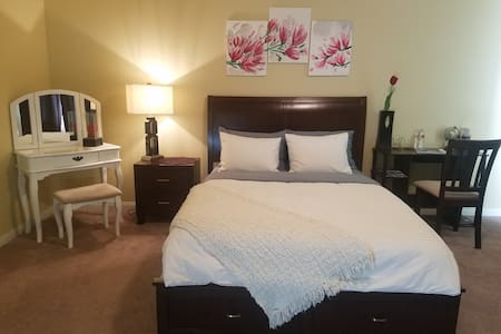Brand new Master Bedroom minutes from the Strip!