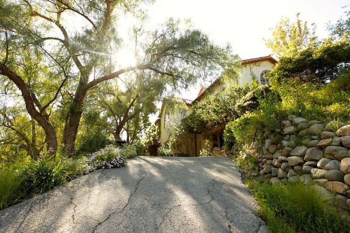 Lower wing of Tuscan Estate Retreat Sanctuary