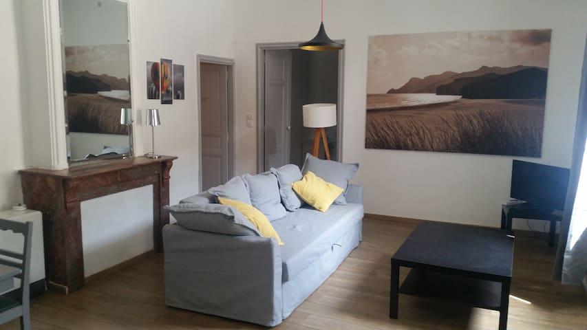 Petit loft dans maison avec Clim et Parking - Cessenon-sur-Orb - Appartement