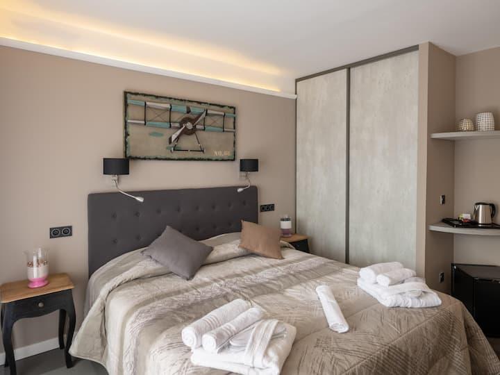 Chambre standard RDC avec terrasse
