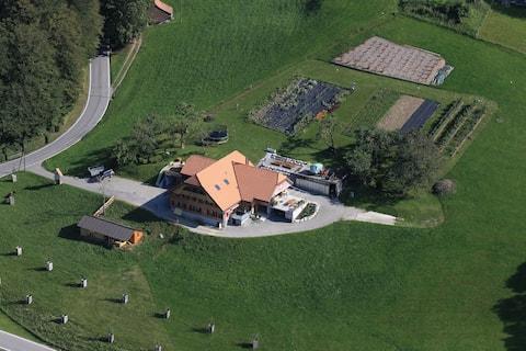 Bijou i Gantrisch naturpark