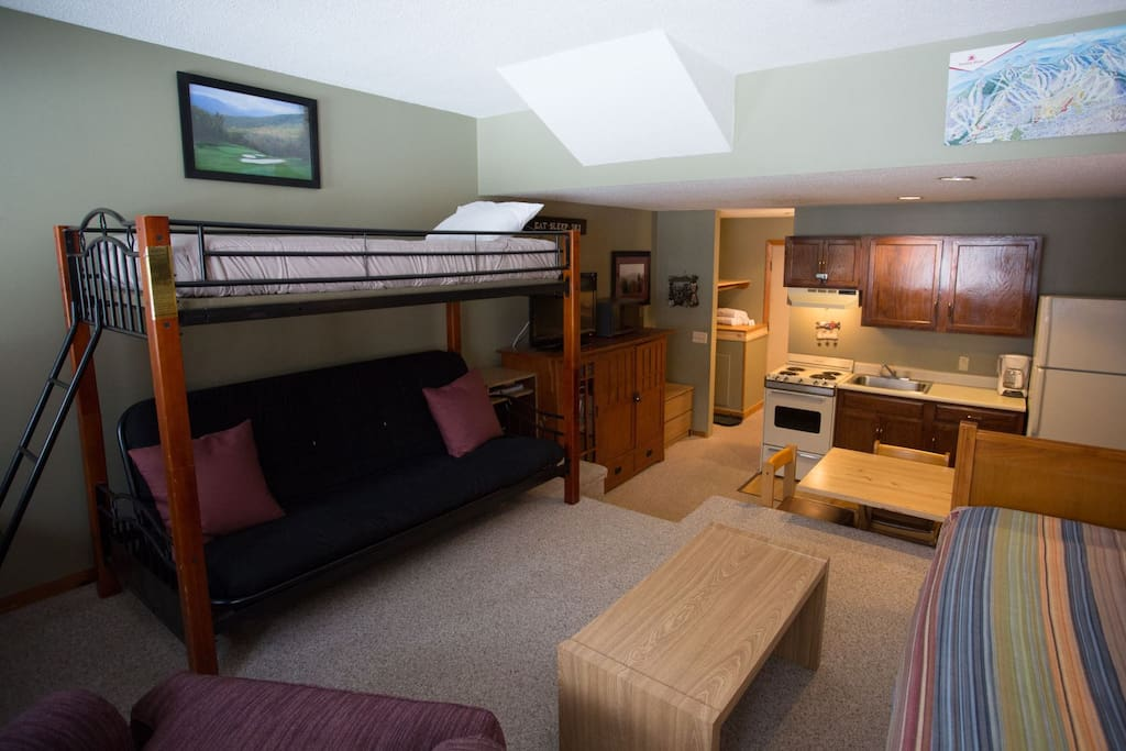 Living Area with Bunks