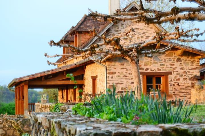 Clos SAINT VENANT - Payzac - Haus