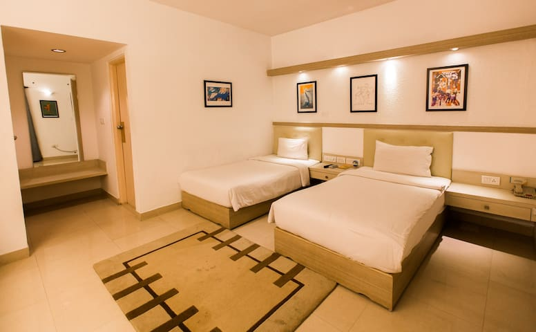 Twin Bed room for Business People - Bangalore - Apartamento