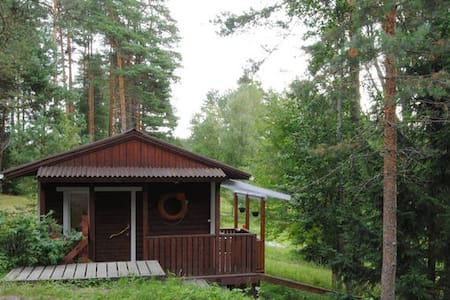 House on the lake Janisjarvi: Малый дом