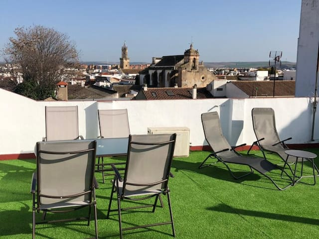 APARTMENT IN THE OLD TOWN CORDOBA. FREE PARKING & TERRACE AL1