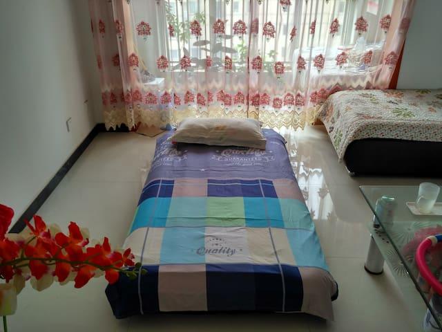 高档封闭小区里,有你一张气垫床 - Tianjin - Departamento