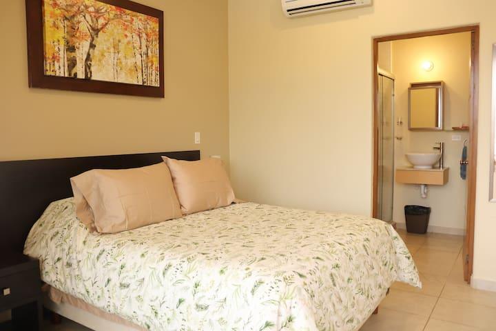 Main bedroom overview