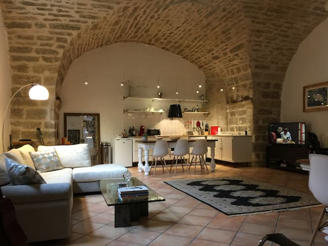 Live like King Louis XIV in historic city centre - Pézenas - Wohnung