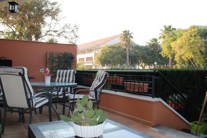 Casa ideal cerca de la playa - Platja de l'Arenal - Stadswoning
