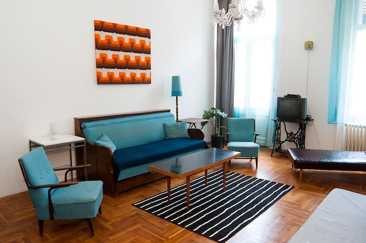 Central, Bright, Child-friendly - Budapest - Apartment