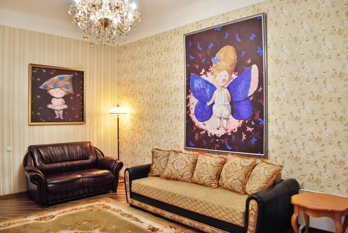 Cozy flat in the historical center - Kiev - Apartment