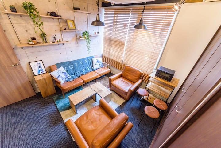 17. Access Shibuya,Roppongi(Mix dormitory)