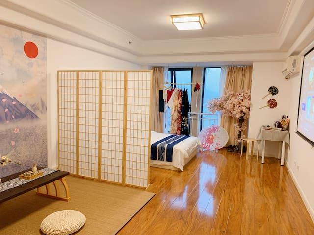 龙湾万达 |日式和服体验民宿