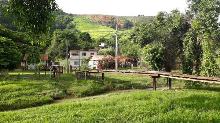 Casa de campo próx rampa do Monjolo/Baixo Guandu