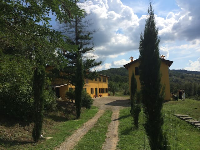 Hilltop Villa Hideaway With Pool Sleeps 6. - Bologna - Huis