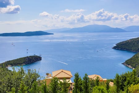 Villa Auriga -Private villa with stunning sea view - Sivota