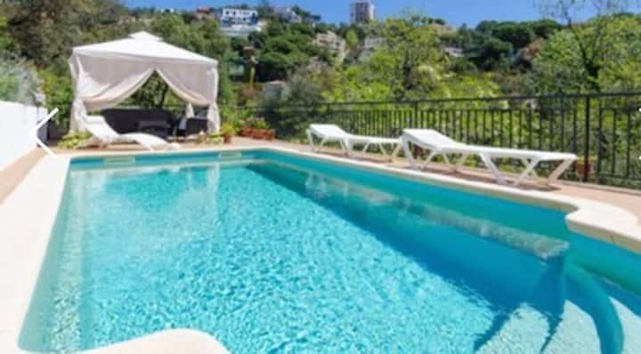 Apartments in a private Villa.Costa Bravo.