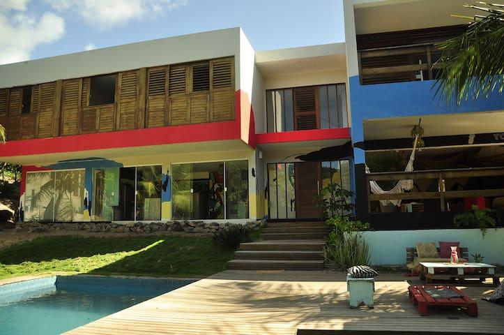 Mundaka Pipa Hostel Quarto Privado para 2 pessoas - Pipa Beach - Apartmen
