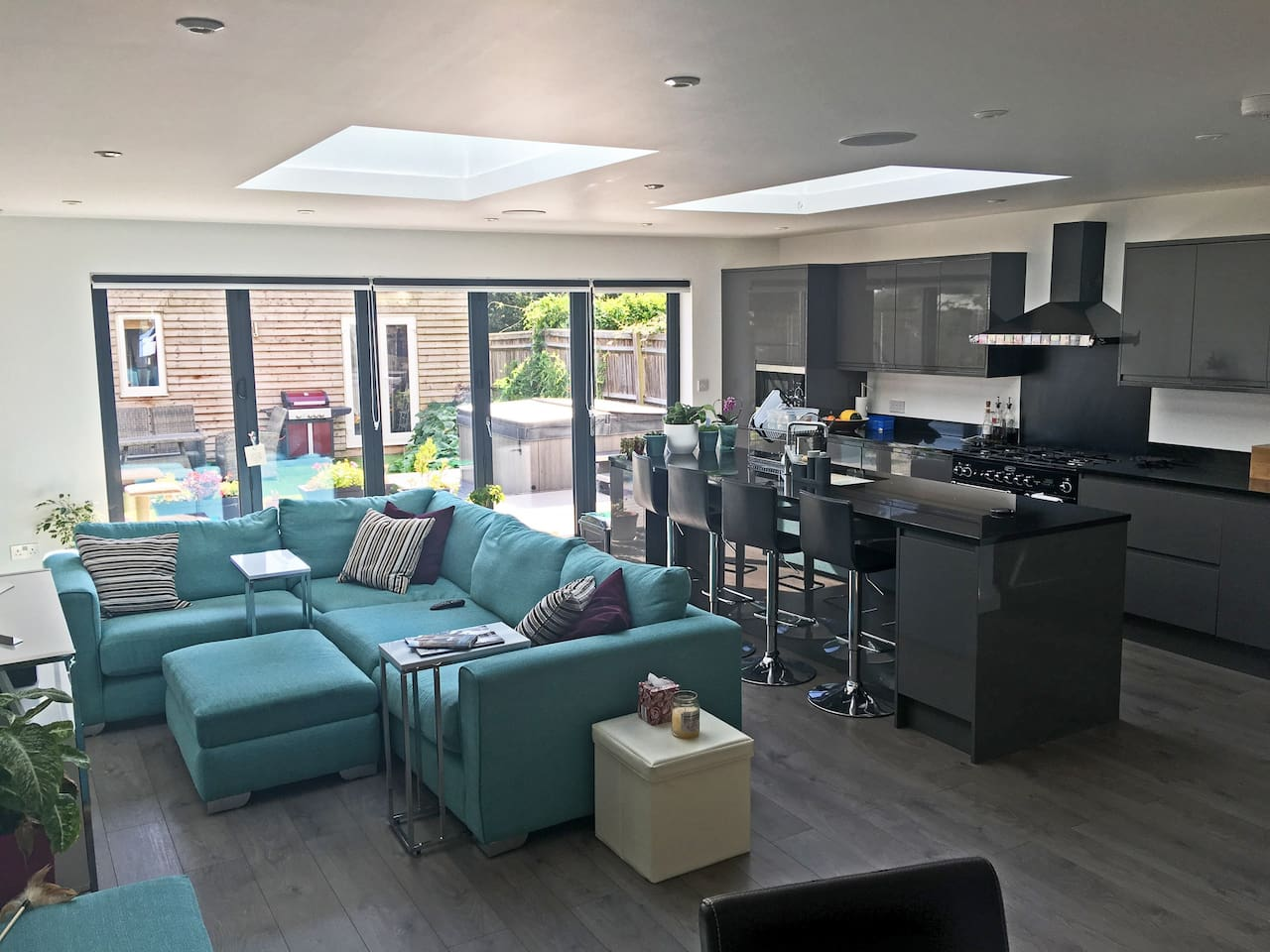 Kitchen & shared living space