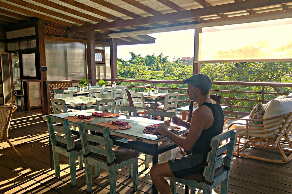 Breakfast at Yerbabuena restaurant