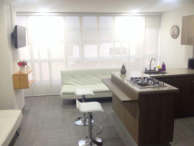 Apartamento con vista al embalse