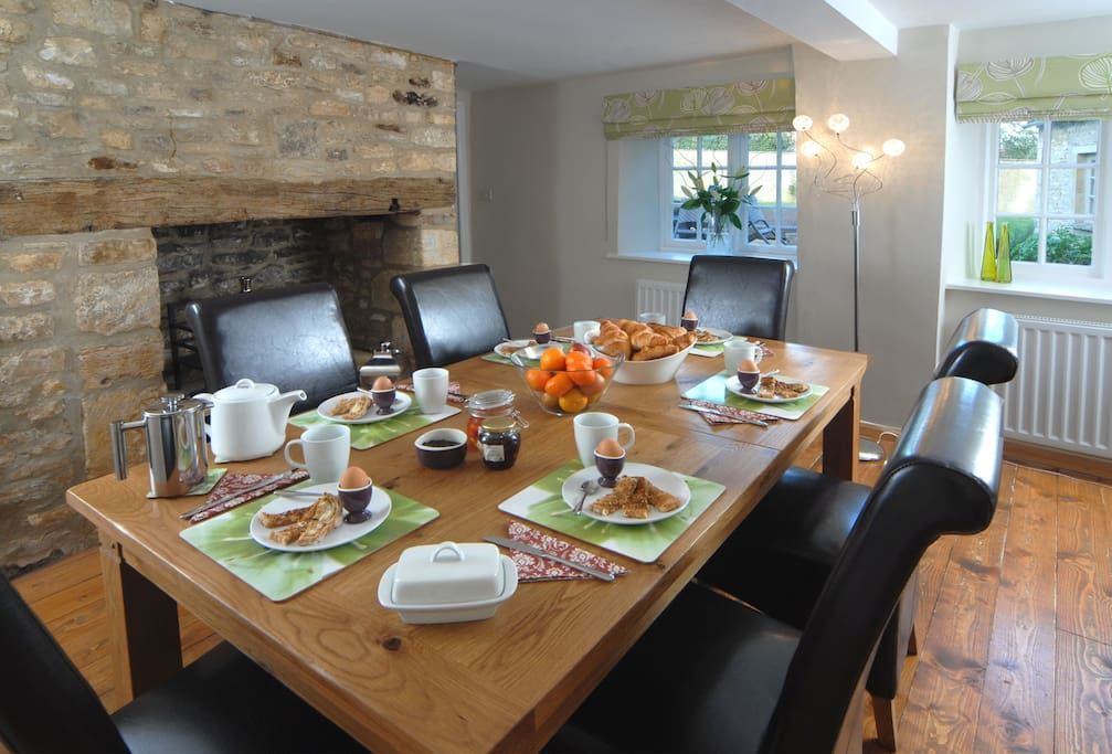 Ground Floor: the Dining Room