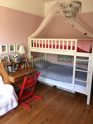 Bedroom 2 with bunk beds
