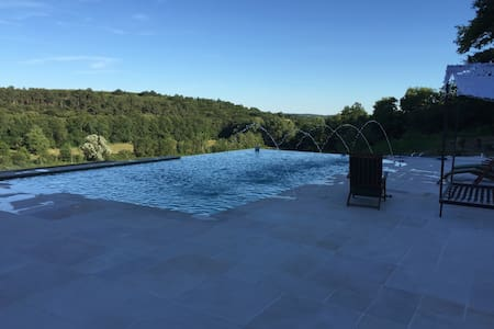 Large property+infinity pool,ideal for large group - Rougnac - Casa