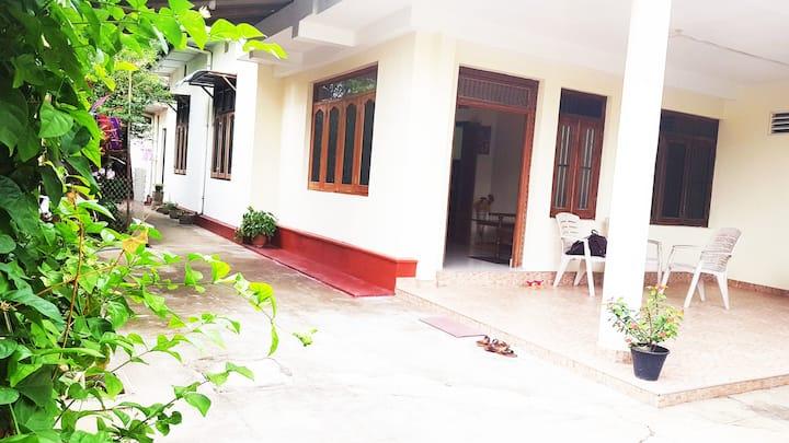 Modern beachside spacious house