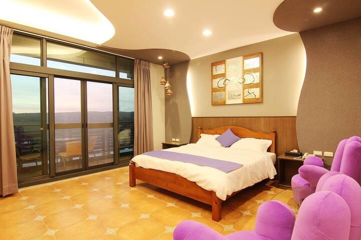 紫瀞坊民宿日落景觀兩人房