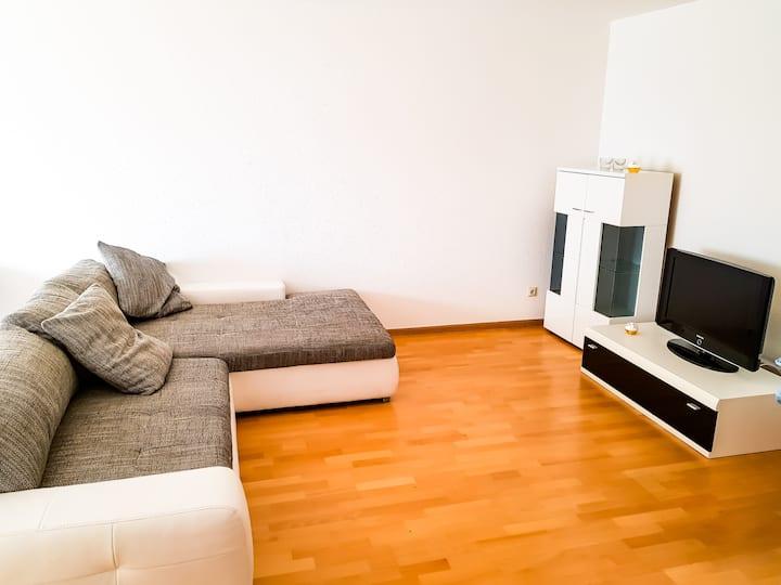 Bright apartment near Loerrach City Center