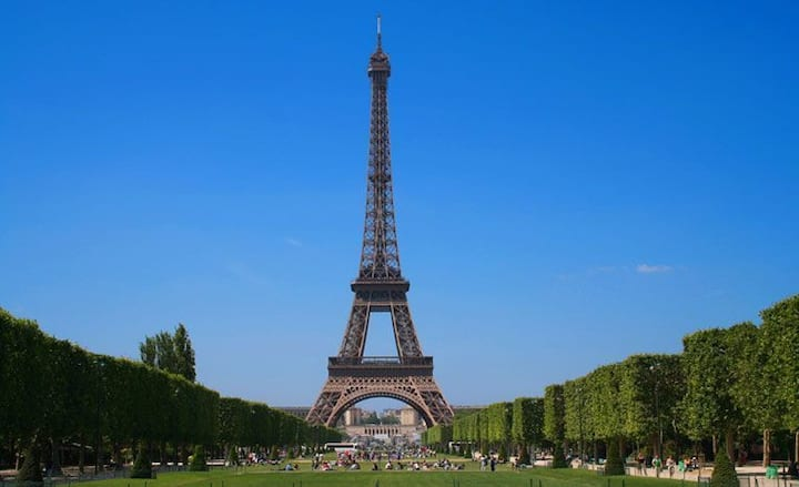 Eiffel Tower View Paris