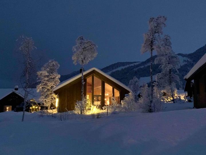 Ny hytte til leie i vakre og varierte Raudalen