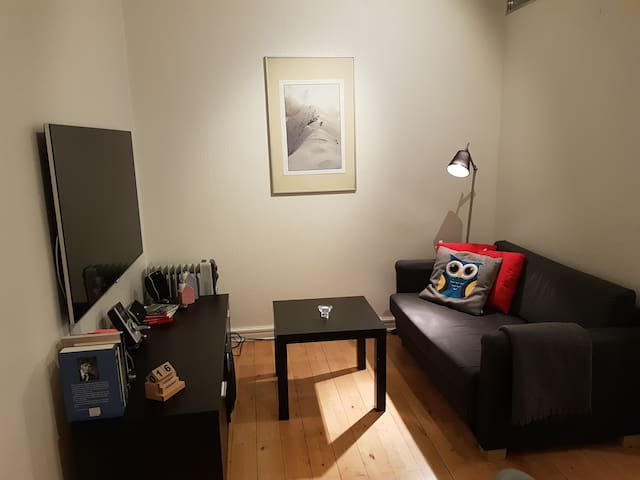 Great found! Really nice apartment w 2 double beds