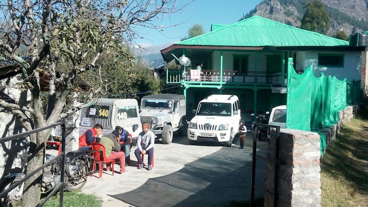 Hamptan HomeStay at Village Shuru, Manali.