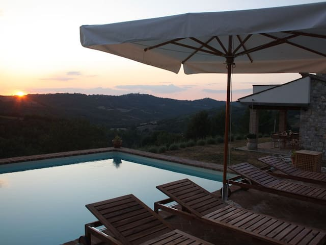 Country House with Private Pool - San Terenziano - House