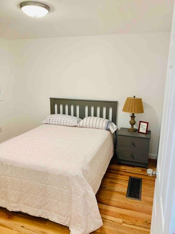 Bedroom #1. Full bed, brand new in 2018.