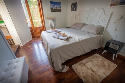Suite TRAMONTANA Letto Queen+Balcone+Bagno Privato
