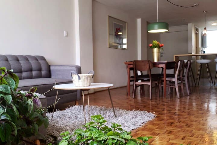 3 Bed, great light, quiet, remodelled Condesa flat