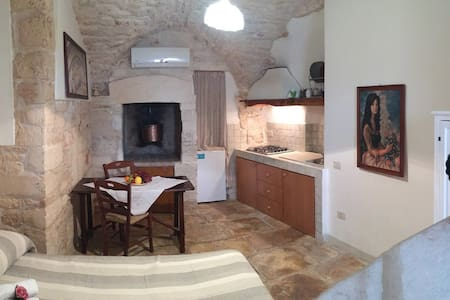 Monolocale con volte in pietra - Martina Franca - Appartamento