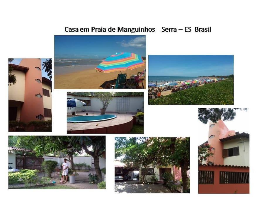 Casa em praia de Manguinhos - Serra ES