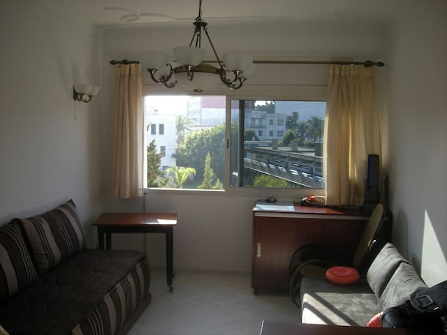 Spacious, calm and modern appartment in Agdal - Rabat - Lejlighed