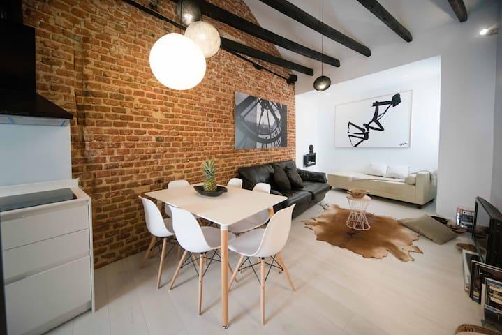 Exclusivo piso de lujo calle Toledo- neomudejar - Madrid - Apartment