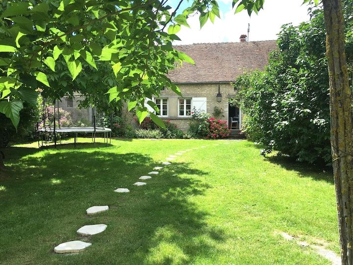 Maison charme Sud Fontainebleau-6 chb-70 km Paris