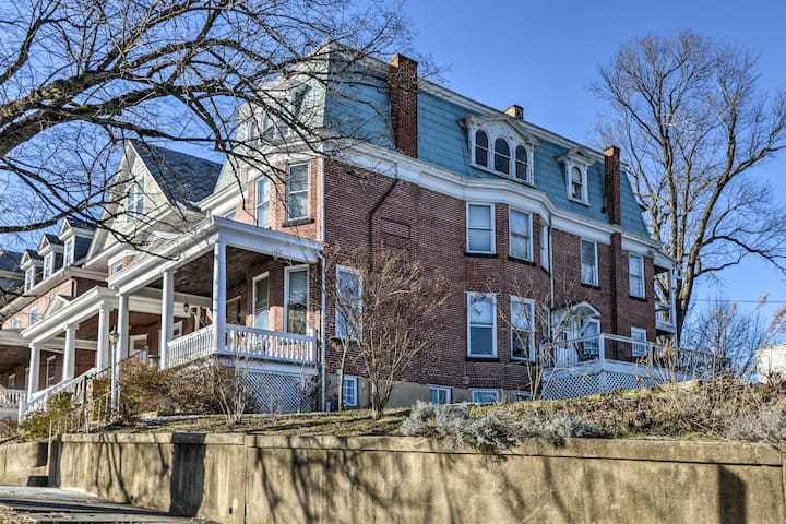 NEW! Historic Cumberland Home w/Deck & Valley View